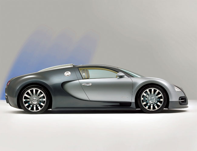 sketch of bugatti