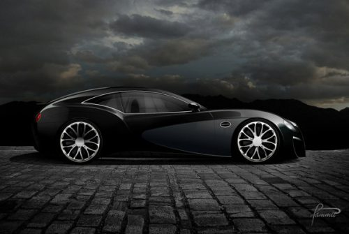 are bugatti veyrons manufactured in paris
