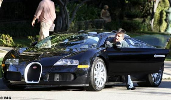 bugatti in top gear