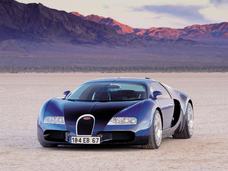 bugatti official website