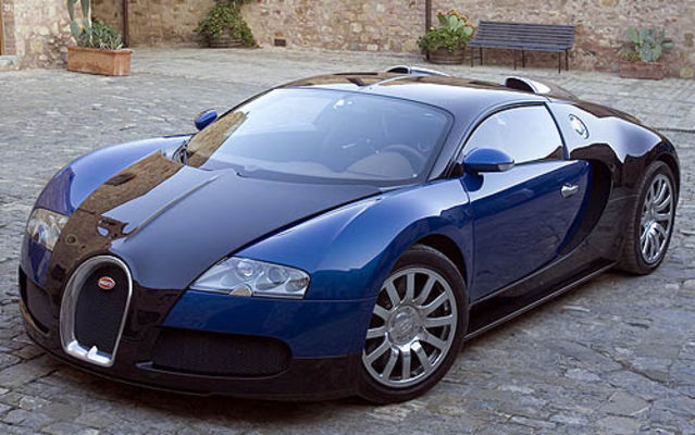 track tests fo the bugatti veyron