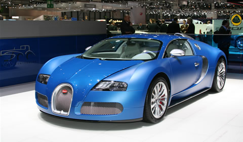 how fast is the bugatti veyron